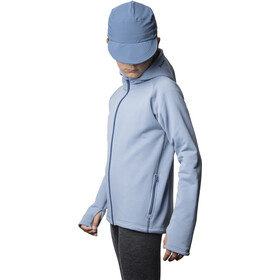 Houdini Power Houdi Jacket Barn up in the blue